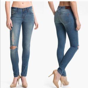 DL1961 Distressed Amanda Skinny Jeans
